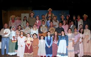 Oklahoma Cast Photo - April 2013