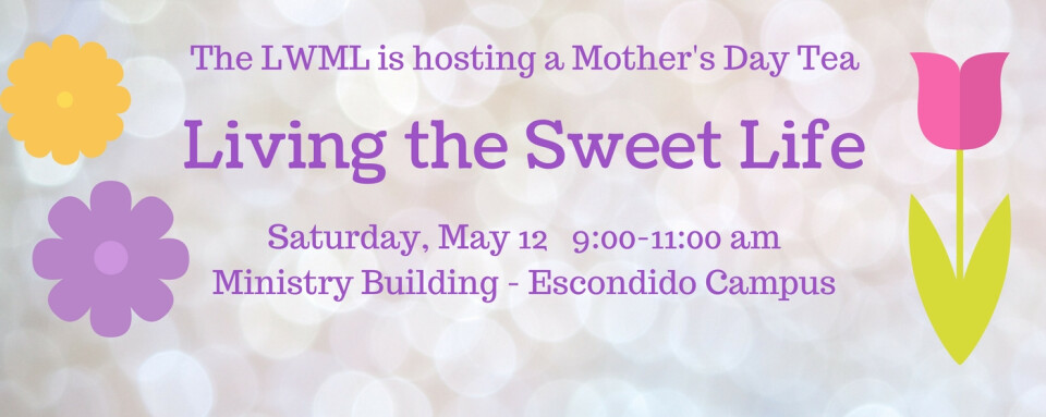 LWML Mother's Day Tea