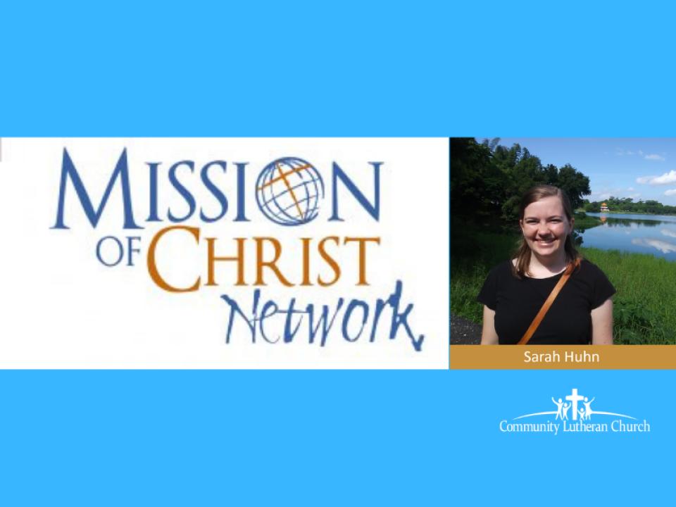 Sarah Huhn Missionary Presentation