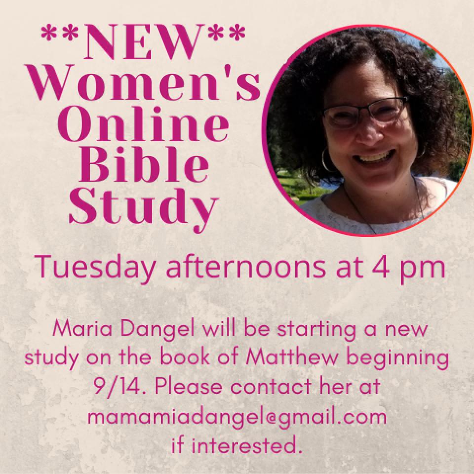 Women's Bible Study (online)